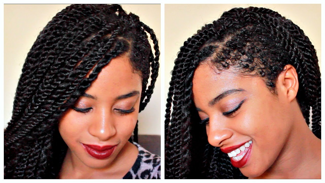 The Most Beautiful Senegalese Twists With Shaved Sides Hairstyles